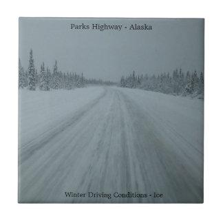 Parks Highway Ice Tile