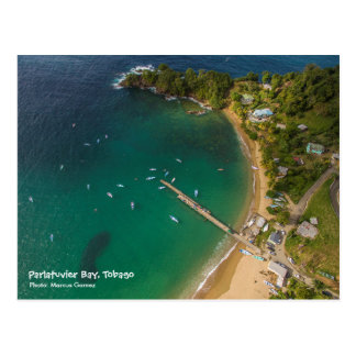 Parlatuvier Bay - Travel Tobago W.I. Postcard