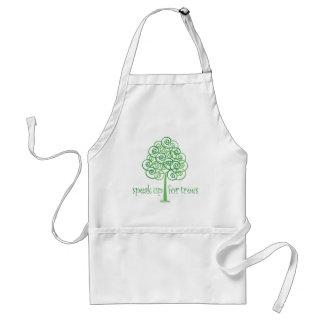 Parlez pour des arbres - arbre Hugger Tablier