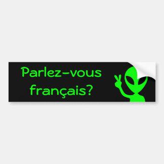 Parlez-vous francais? Bumper Sticker
