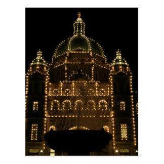 Parliament at Night Postcard
