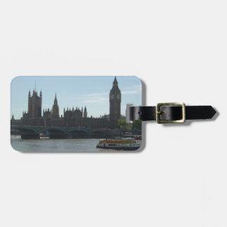 Parliament & Big Ben Luggage Tag