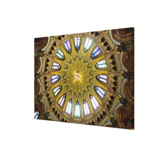 Parliament Building Dome Interior Canvas Print