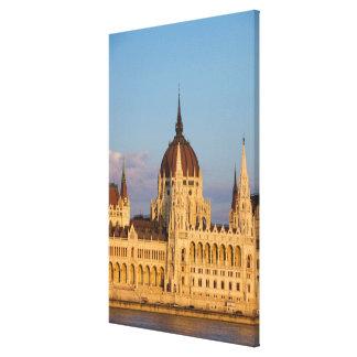 Parliament Building, Hungary Canvas Print