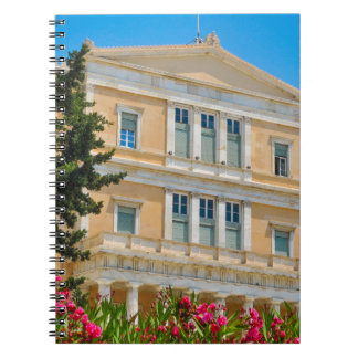 Parliament building in Athens, Greece Notebook