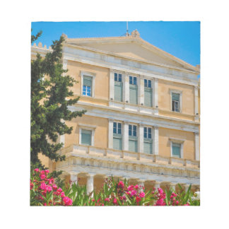 Parliament building in Athens, Greece Notepad