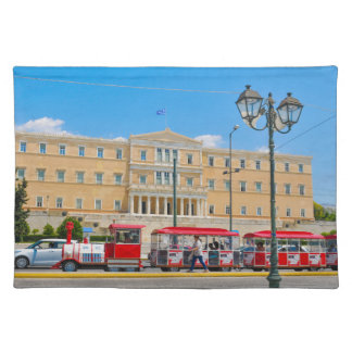 Parliament building in Athens, Greece Placemat