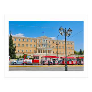 Parliament building in Athens, Greece Postcard