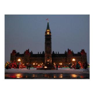 Parliament Buildings Ottawa Post Card