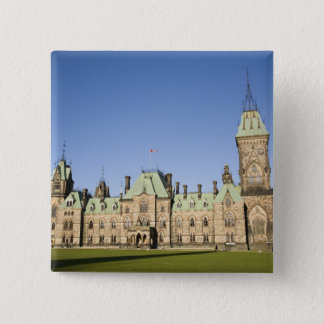 Parliment Building in Ottawa, Ontario, Canada 2 Inch Square Button