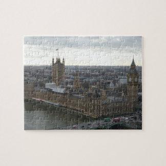 Parliment House & Big Ben London Jigsaw Puzzle