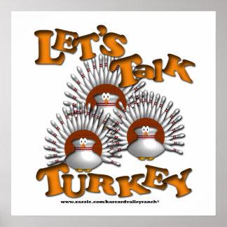 Parlons l'affiche de la Turquie