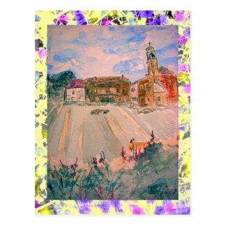 parma province italy drip postcard