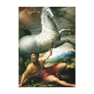 Parmigianino Spill of Paul Canvas Print