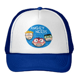 Parody of your favorite app game: Angry Nerds, Trucker Hat