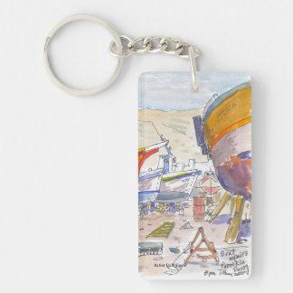 Paros Grèce Keychain Porte-clefs