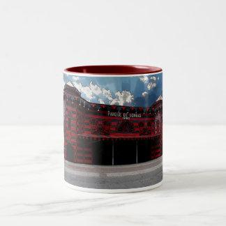 Parque de Bombas de Ponce Two-Tone Coffee Mug