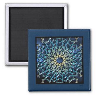 Parquet Magnet - Navy Blue