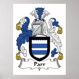 Parr Family Crest Poster