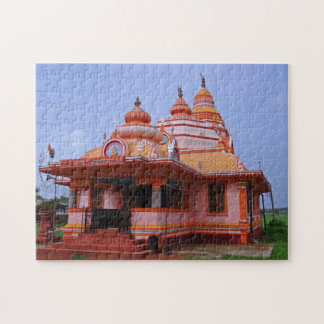 Parra Mahadev Temple India. Jigsaw Puzzle