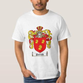 Parrish Family Crest - Parrish Coat of Arms T-Shirt