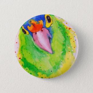 Parrot 2 Inch Round Button