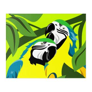 Parrot Abstract Art
