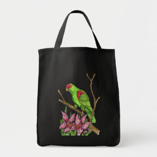 Parrot and Orchid bag