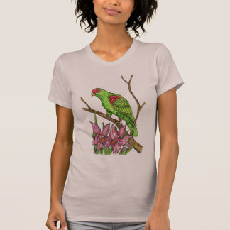 Parrot and Orchids T-Shirt