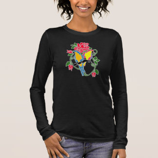 Parrot And Red Rose Plus Size Ladies Top