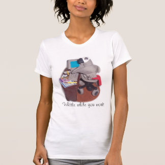 Parrot at Desk T-Shirt