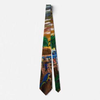 Parrot Bay Tie