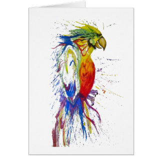 Parrot Bird Animal Card