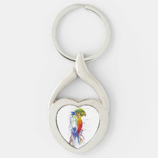 Parrot Bird Animal Keychain