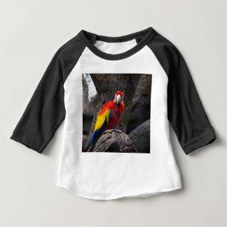 Parrot Bird Papużka Pet Ara Wings Beak Animal Baby T-Shirt
