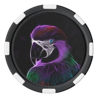 Parrot Bird Poker Chips Set
