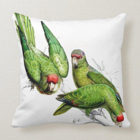 Parrot Birds Wildlife Animals Throw Pillow