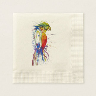 Parrot Budgie Bird Paper Napkin