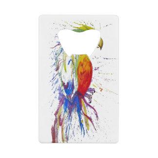 Parrot Budgie Bird Wallet Bottle Opener