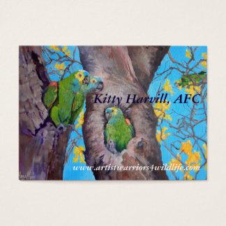 Parrot Business card