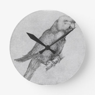 Parrot by Albrecht Durer Clocks
