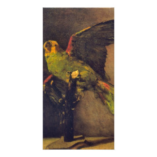 Parrot by Vincent van Gogh Photo Card Template