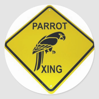Parrot Crossing Bumper Sticker