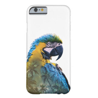 Parrot Double Exposure Barely There iPhone 6 Case