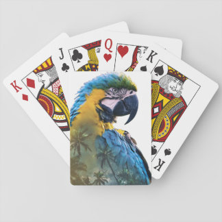 Parrot Double Exposure Playing Cards