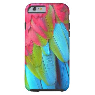 Parrot Feathers iPhone 6 case Tough iPhone 6 Case