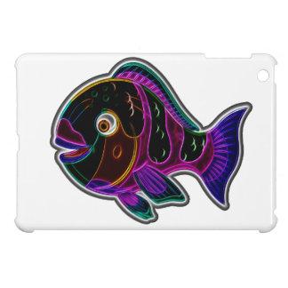 Parrot fish iPad mini cover