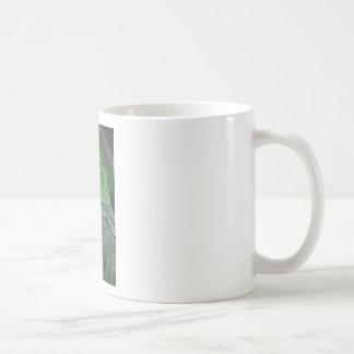Parrot - Green Basic White Mug
