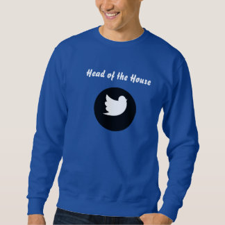 Parrot Head of the House Bird Men's Sweatshirt