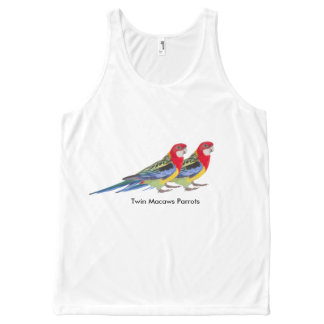 Parrot image for All-Over Printed Unisex Vest